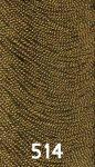 Sötét arany színű osztott szálú hímzőfonal