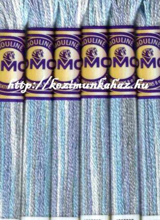 DMC color variations 4010 off_white-világos kék-világos lila osztott hímzőfonal
