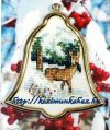 Őzike téli erőben - leszámolható keresztszemes készlet