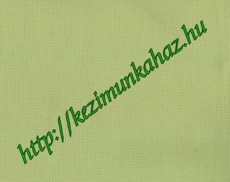 Aida 18 count lime - Zweigart