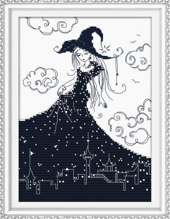 Éjszaka hercegnője - keresztszemes készlet
