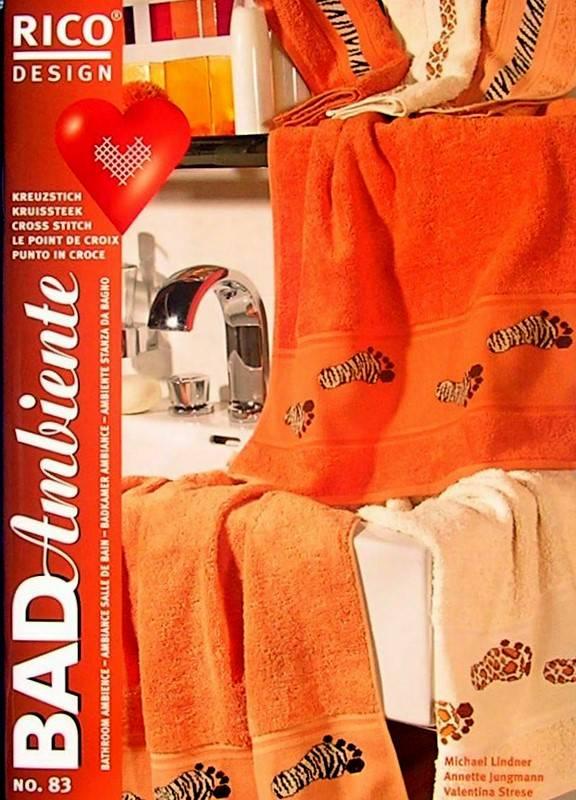Fürdőszoba hangulata - Rico leszámolható keresztszemes mintafüzet - Kézimunka Ház