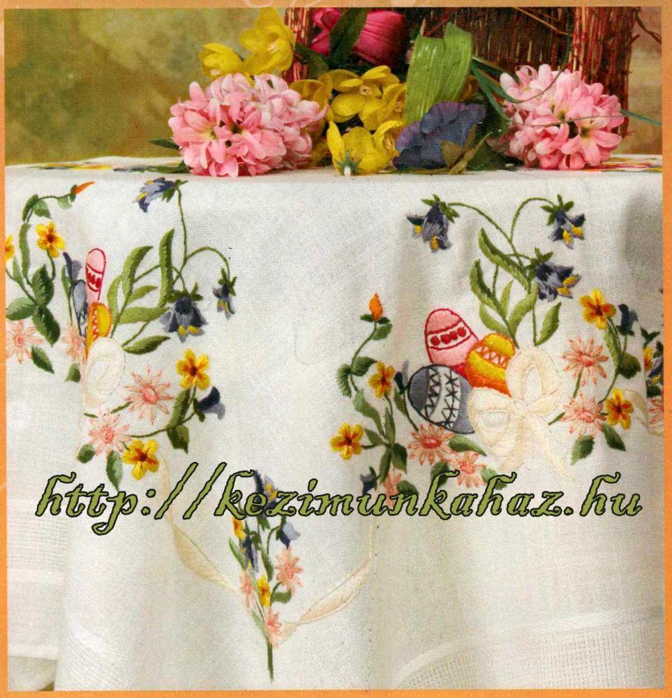 Húsvéti - előfestett asztalterítő
