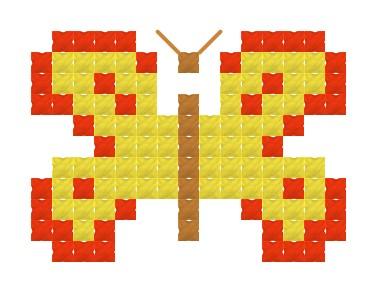 Pillangó - keresztszemes készlet