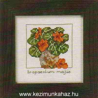 Kerti sarkantyúka - Permin leszámolható keresztszemes készlet
