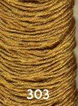 Arany színű osztott szálú hímzőfonal