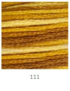 DMC 111 színátmenetes barna osztott hímzőfonal