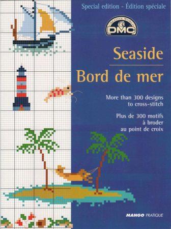 Seaside Bord de mer - DMC leszámolható keresztszemes mintafüzet
