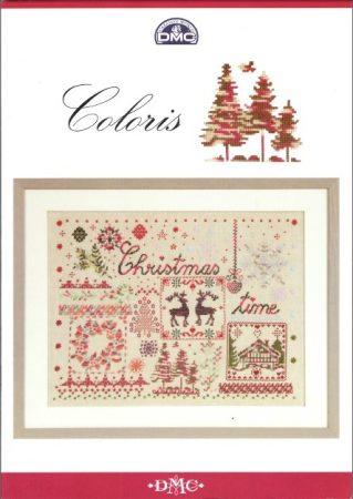 Coloris - Karácsony - DMC leszámolható keresztszemes mintafüzet