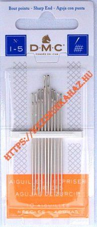 Hímzőtű készlet 1-5 - hegyes - DMC