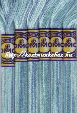 DMC color variations 4020 világos tengerzöld-halvány lila-halvány zöld osztott hímzőfonal