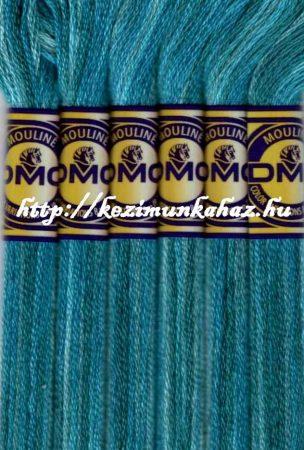 DMC color variations 4025 világos kék-kék-tengerkék osztott hímzőfonal