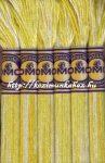 DMC color variations 4077 fehér-világos sárga-citromsárga osztott hímzőfonal