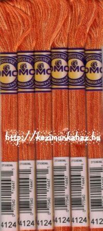 DMC color variations 4124 narancs-világos narancs-terakotta osztott hímzőfonal
