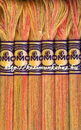 DMC color variations 4126 koral-bézs-világos keki osztott hímzőfonal