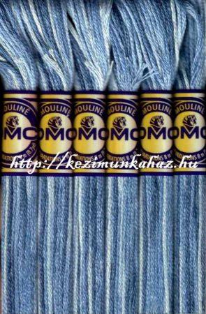DMC color variations 4235 liláskék-világos liláskék-off-white osztott hímzőfonal