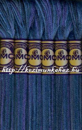 DMC color variations 4240 kék-sötét kék-sötét lila osztott hímzőfonal