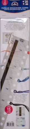 Szín szortírozó kártya tűtartó mágnes csíkkal