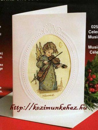 Mennyei muzsika - Hummel leszámolható keresztszemes készlet
