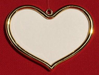 Keret - szív alakú
