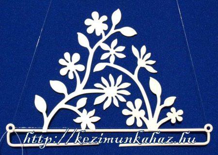 Virágos akasztó - Rico - 21 cm