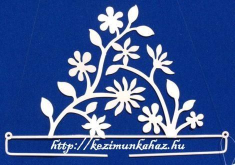 Virágos akasztó - Rico - 31 cm