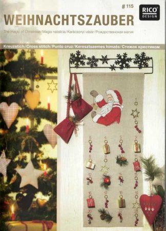 Karácsonyi varázslat - Rico leszámolható keresztszemes mintafüzet