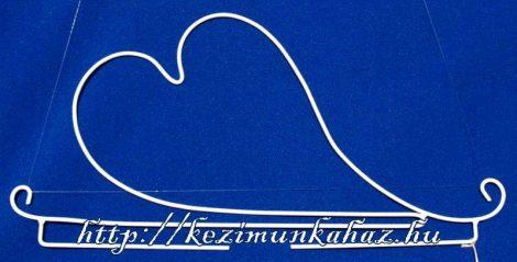 Szív akasztó - Rico - 31 cm