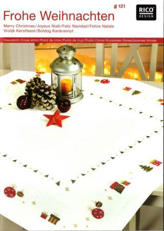 Boldog karácsonyt - Rico leszámolható keresztszemes mintafüzet