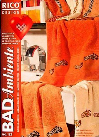 Fürdőszoba hangulata - Rico leszámolható keresztszemes mintafüzet