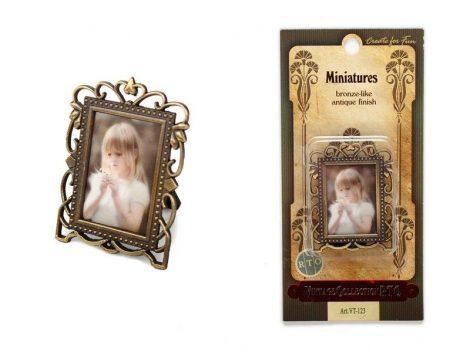 Antikolt miniatűr képtartó - RTO Vintage Collection