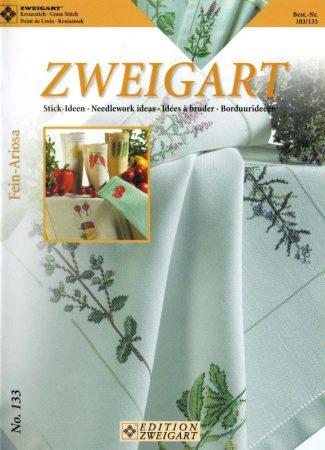 Hangulatok - Zweigart leszámolható keresztszemes mintafüzet