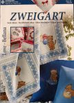 Minták kocka blokkokra - Zweigart 149 leszámolható  kesztszemes mintafüzet