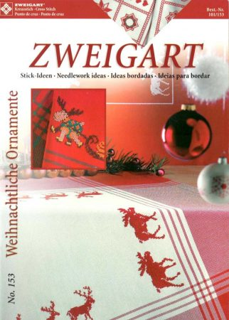 Karácsonyi dekorációk - Zweigart leszámolható keresztszemes mintafüzet