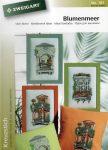 Erkélyek és virágok - Zweigart leszámolható keresztszemes mintafüzet