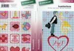 Családi eseményekhez minták - Zweigart leszámolható keresztszemes mintafüzet