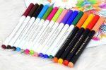Kimosható jelölőfilc -színes