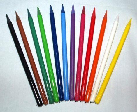 Textil jelölő ceruza - vízzel oldódik - famentes