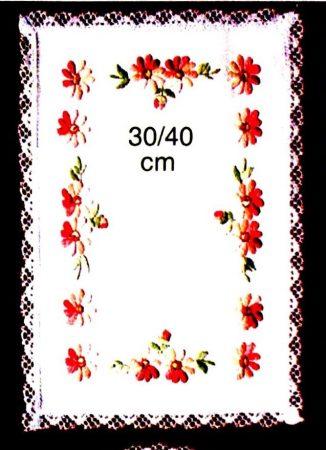 Virágok - előfestett terítő