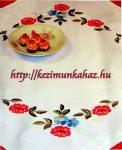 Virág - előfestett asztal terítő