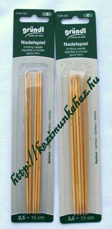 Bambusz zoknikötőtű