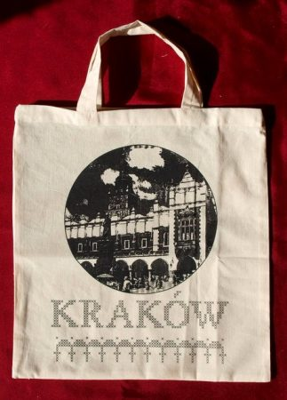 Kraków - előfestett keresztszemes szatyor
