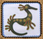 Csikóhal - hímezhető filc kép készlet