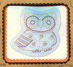 Bagoly - hímezhető kép készlet