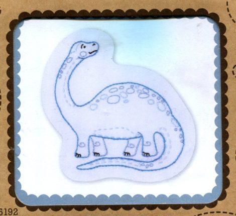 Apatosaurus - hímezhető kép készlet
