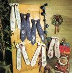 Karácsonyi masni (többféle) leszámolható keresztszemes készlet