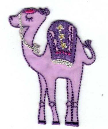 Dromedár - ruhára vasalható textil matrica