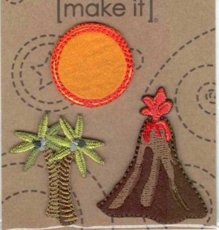 Hőség - ruhára vasalható textil matrica