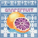 Grapefruit- előnyomott gobelin