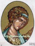 Római nő - előnyomott tűgobelin